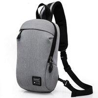 X Online 032117 Hot Sale Man Small Canvas Cross Body Bag Men Messenger Bag