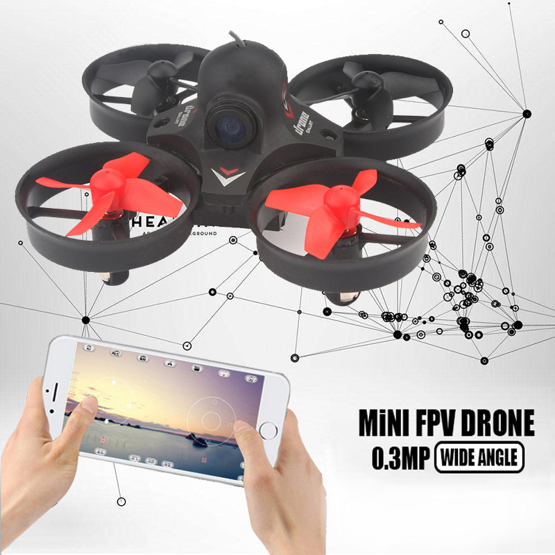 New Arrival Hot Mini Drone with Wifi Camera Rc Quadcopter 6-axis Rc Helicopter Altitude Hold One Key Return RC Toys vs JJRC H36