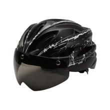 Shark Tiger Men Cycling Helmet With Goggles Rode Bike Safety Mountainous Bicycle Integrally-molded