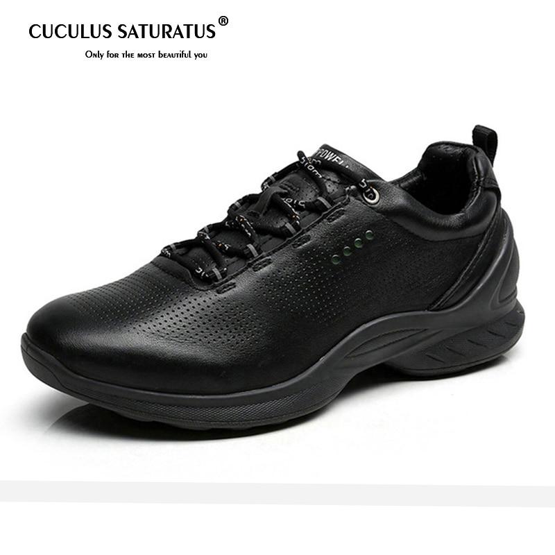 Printemps automne chaussures en cuir véritable homme chaussures de course chaussures de Sport de neige chaussures de loisirs de plein air chaussures de Sport Zapatillas Mujer 837514