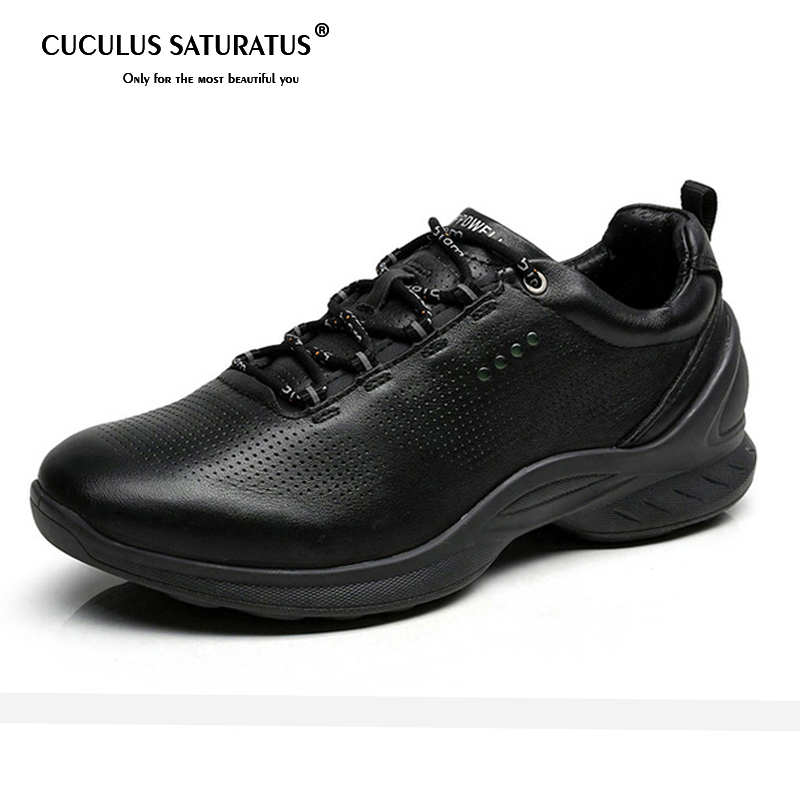 Spring Autumn Genuine Leather Shoes Man Running Shoes Snow Shoe Sport Shoes Outdoor Leisure Sneakers Zapatillas Mujer 837514
