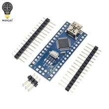 10Pcs Promotie Funduino Nano 3.0 Atmega328 Controller Compatibel Board Voor Wavgat Module Pcb Development Board Zonder Usb