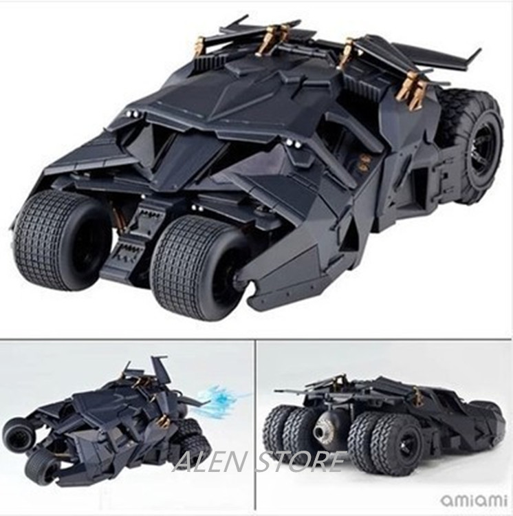 ALEN Mvie Batman The Dark Knight Rises Bruce Wayne Batmobile Tumbler 043# Cartoon Toy PVC Action Figure Model Gift rainbow suit batman zebra detective bat man the dark knight batman bruce wayne super heroes figures children gift toys kf1033
