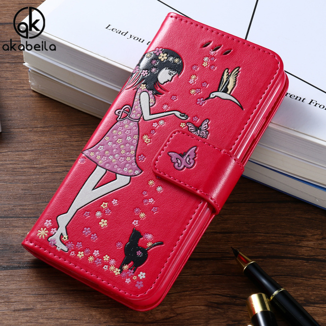 AKABEILA Luminous Girl Covers Case For Huawei P9 Lite P9 Mini G9 G9 Lite VNS-L21 VNS-L22 VNS-L23 VNS-L31 VNS-L53 Case Cover Hood