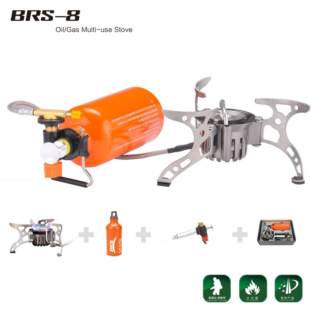 BRS Portable Multi Fuel Outdoor Backpacking Camping Picnic Stove Oil Gas Furnace BRS-8 the window office paper sticker pervious to light do not transparent bathroom window shading white frosted glass tint