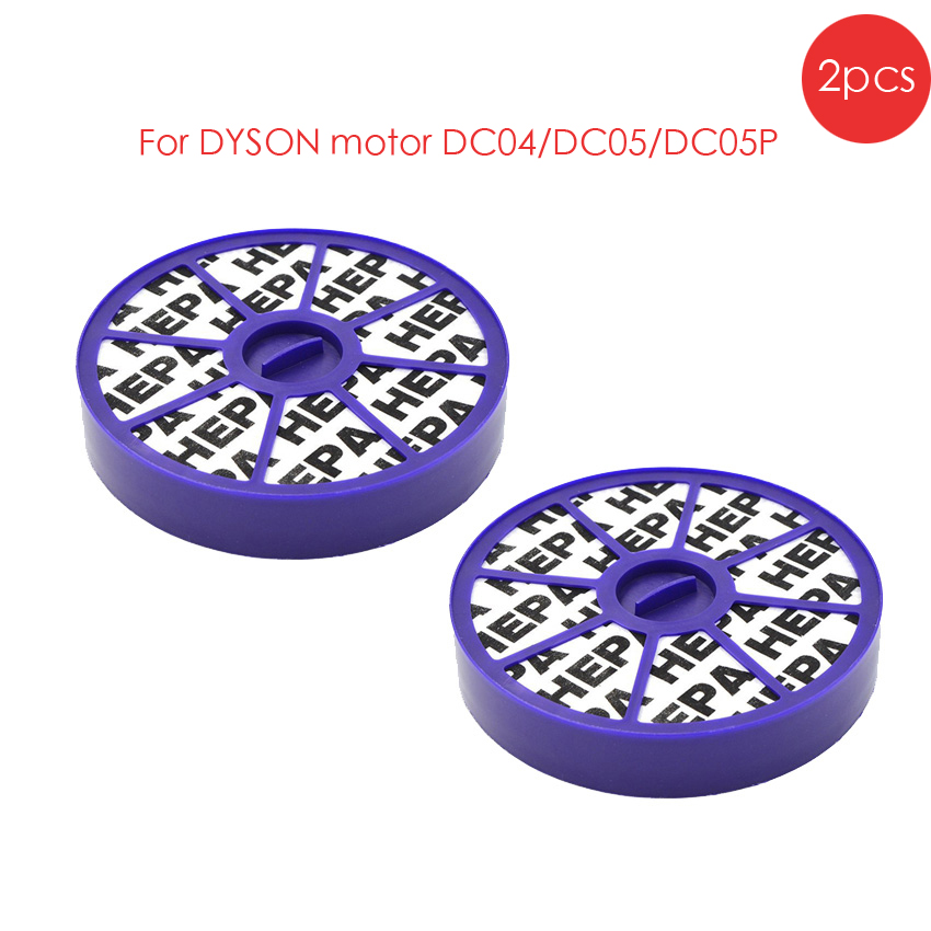 2 pack New HEPA FILTERS Replaces For DYSON motor DC04/DC05/DC08/DC19/DC20/DC21 Vacuums Cleaner Parts 2 pack new hepa filters replaces for dyson motor dc04 dc05 dc08 dc19 dc20 dc29 vacuums cleaner parts