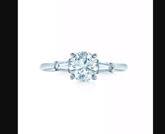 Custom order for Round 2 5 ct Center Ring moissanite ring in 14K white gold