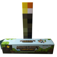 Minecraft Torch 28CM LED Minecraft Up Torch Light LED Figure Toys Light Up Diamond Ore Kids