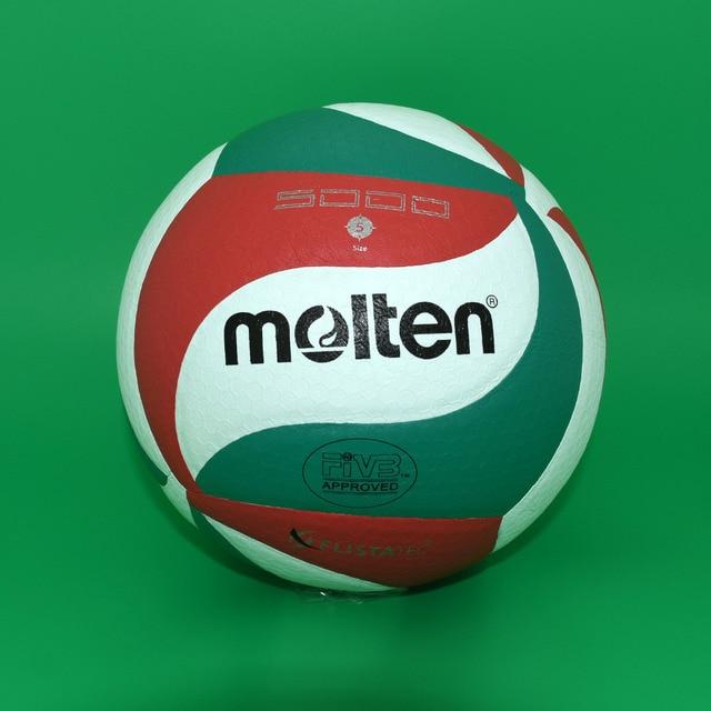 Nueva marca profesional PU suave pelota de voleibol táctil #5 VSM5000 VSM4500 pelota de Partido para la competencia de entrenamiento con red de agujas bolsa