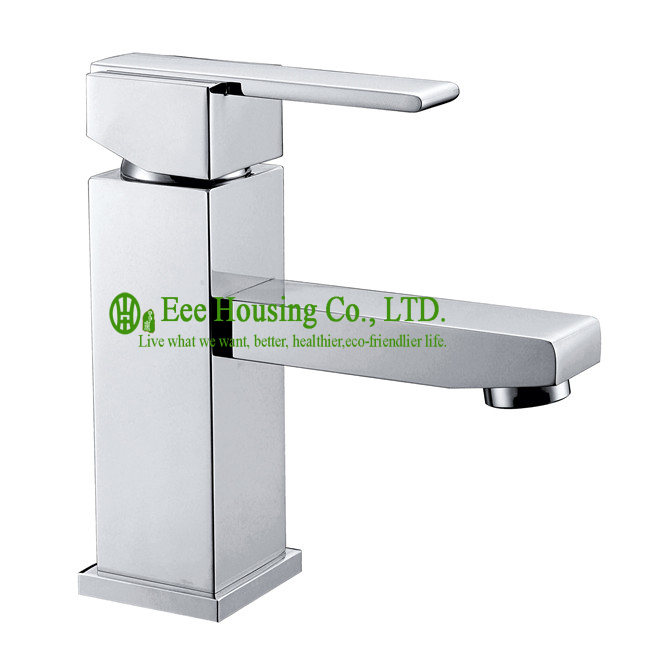 Free Shipping Brass Single-hole Basin Mixer,bathroom Faucet Chrome Finished,bathroom Accessories
