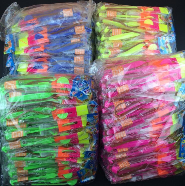 100 pcs lote ou 50 pcs luz seta voando brinquedo led flash luz brinquedos festa diversao