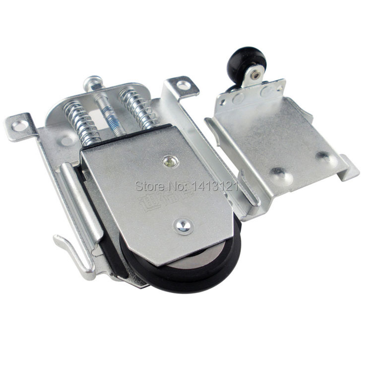 free shipping furniture caster Positioning pulley sheave nylon Anti-derailed pulley closet cabinet pulley sliding door wheel 2pcs set stainless steel 90 degree self closing cabinet closet door hinges home roomfurniture hardware accessories supply