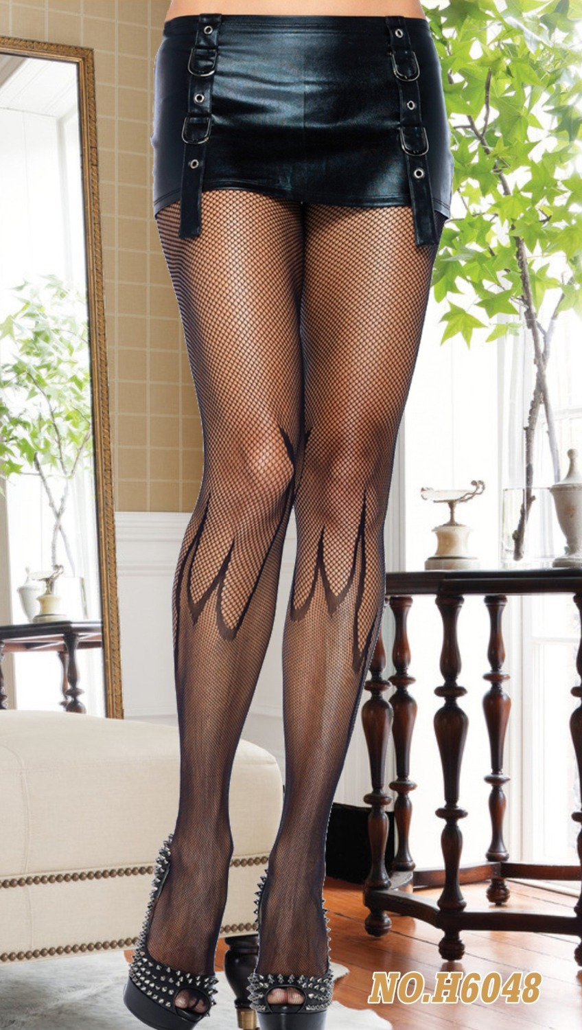 TITIVATE New Women Mock Suspender Tights, Elegant Soft And Comfortable Tights Highly Fashionable Stockings Patterned Pantyhose