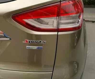 Autocollant d'insigne de voiture en métal chromé sport 3D pour Land Rover Range Rover/Evoque/Freelander/Discovery