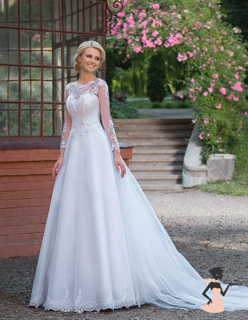 Popular Simple Beautiful Wedding Dresses with Sleeves-Buy Cheap ...