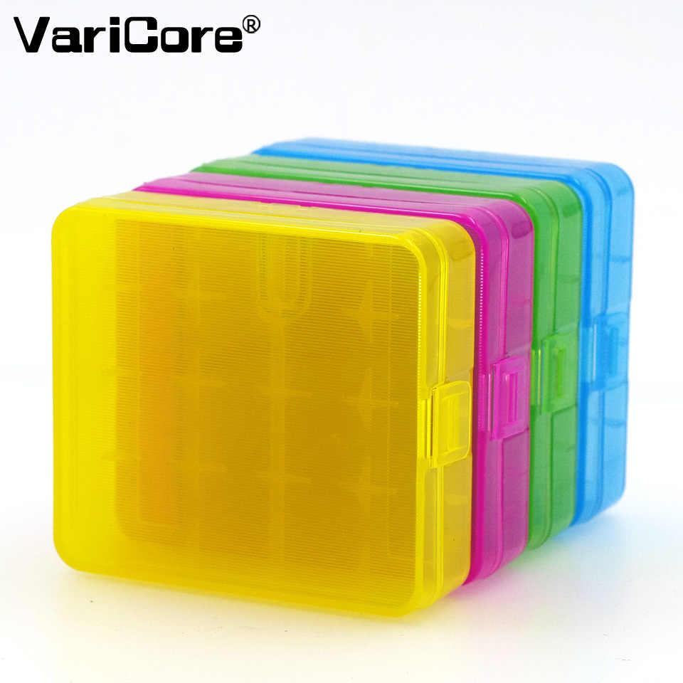 4 قطعة VariCore VTC6 3.7 فولت 3000 مللي أمبير 18650 بطارية ليثيوم أيون 30A التفريغ لسوني US18650VTC6 بطاريات + 18650 حافظة بطاريات صندوق