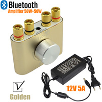2016 New Golden F900 Super Mini Bluetooth Hifi Power Amplifier Stereo 2 0 Channel 30W 2