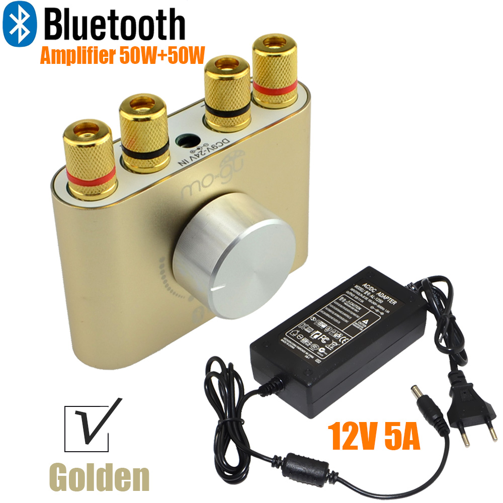 2017 New Audio F900 Mini Bluetooth Headphone Amplifier Hifi Stereo Power AMP 50W+50W With Power Adapter FREE SHIPPING-10000693_G