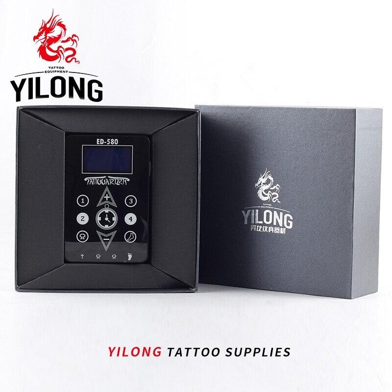 YILONG Free Shipping Wholesale Black New Black Duty Digital LCD Tattoo Power Supply For Machine Gun Device tattoo & body art сколько алкоголя можно в duty free