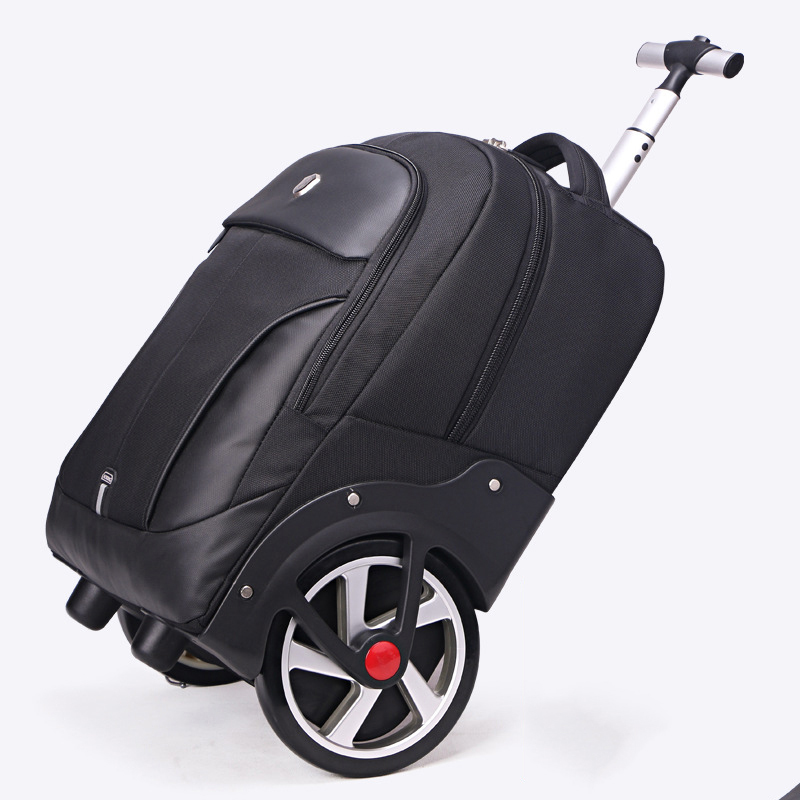 LeTrend High capacity Travel Bags Men Business Rolling Luggage 20 inch Shoulder Suitcase Wheels 18 inch