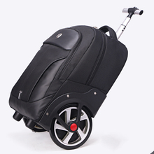 LeTrend High capacity Travel Bags Men Business Rolling