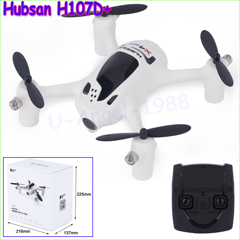 100% Original Hubsan FPV X4 Plus H107D+ With 720P Camera 2.4G 4CH RC Quadcopter RTF 20pcs lot 55mm long propeller for hubsan x4 h107 h107c h107d quadcopter 10pair