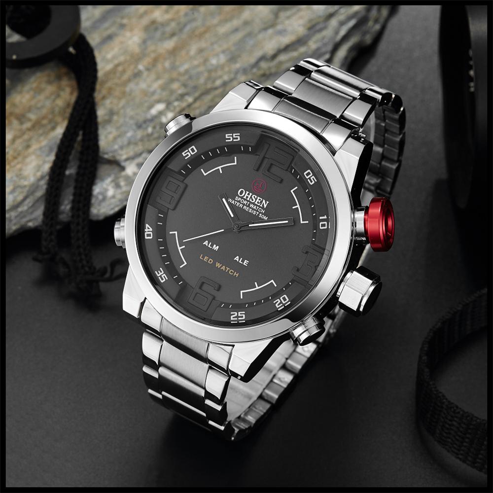 New Watch Men's Military Watches Sports Quartz Wristwatches (18)