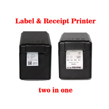 GP-2120T Thermal Barcode & label printer for supermarket and vendor can print receipt impressora multifuncional