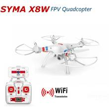 Professional drone Syma X8W 2 4G 4ch 6 Axis font b RC b font Quadcopter with