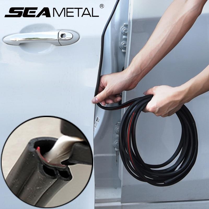 Tiras Auto Adesivos Protetor Scratch Protetor de Borda Da Porta do carro Vedação Da Porta Peças Acessórios Styling Molduras Interior Universal