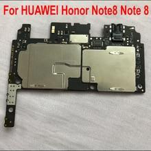 100% เดิมใช้ทดสอบการทำงาน Mainboard สำหรับ HUAWEI Honor Note8 หมายเหตุ 8 เมนบอร์ดเมนบอร์ดวงจรค่า Flex Cable