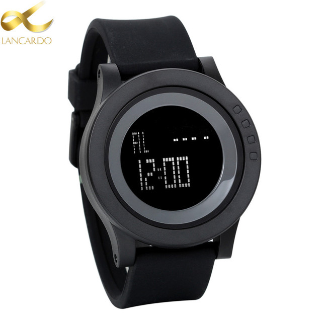 Lancardo Children LED Digital Watch Horloges Mannen Boy Sports Watches Kids Jell