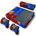 Barcelona fc vinilo sticker decal skin wrap fit para consola xbox one + 2 controladores