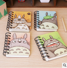 Totoro Hard Cover Portable Pocket Notebook