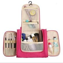 Купить с кэшбэком Heavy Duty Waterproof Hanging Toiletry Bag - Travel Cosmetic Makeup Bag Organizer for Women & Shaving Kit Storage bag for Men