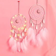 living room decoration dream catchers nordic wall home boys girls dreamcatcher(China)