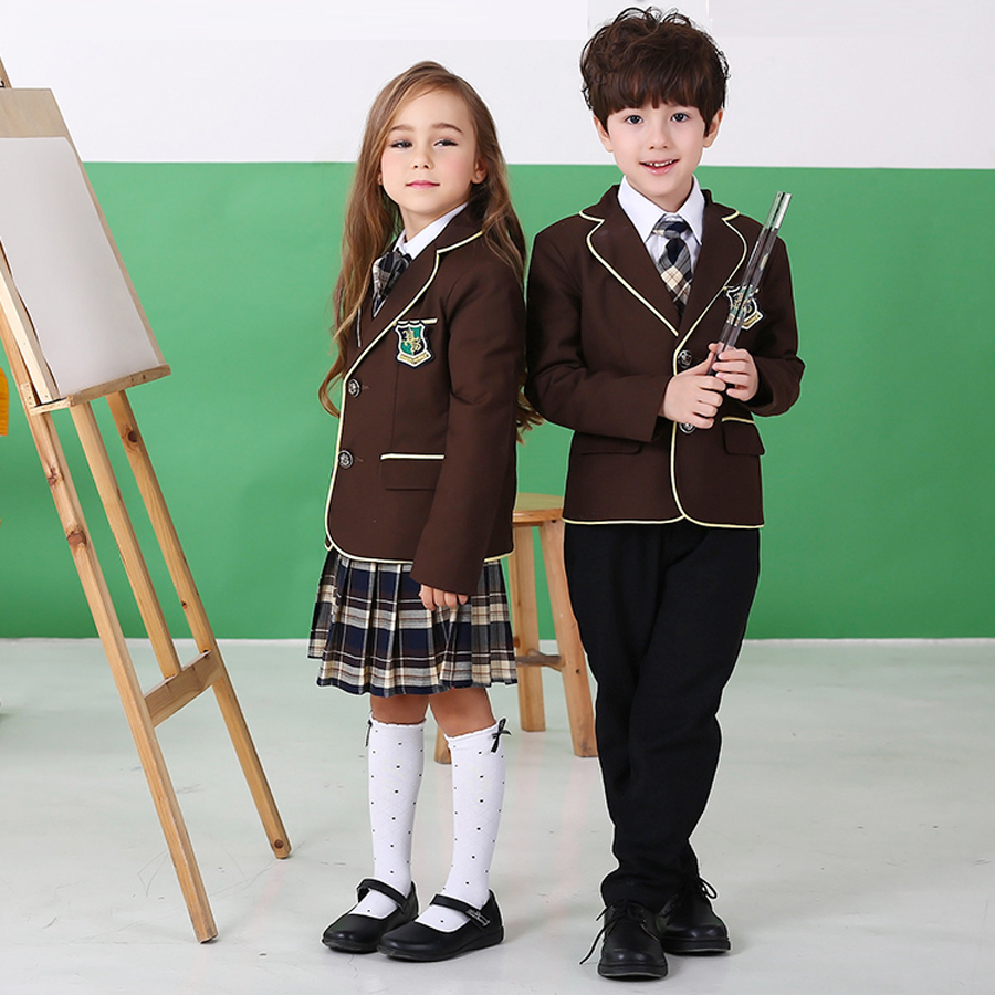 british  girls school uniform  Aliexpress.com : Buy British American Spring winter school uniform for  girls&boys kids jacket skirt baby girl clothes children clothing sets from  Reliable ...