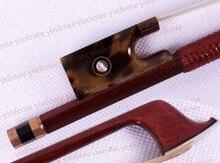 1x Neue 4/4 Violine Bogen erhalten qualität Seltene Silber Farbe Bogen string