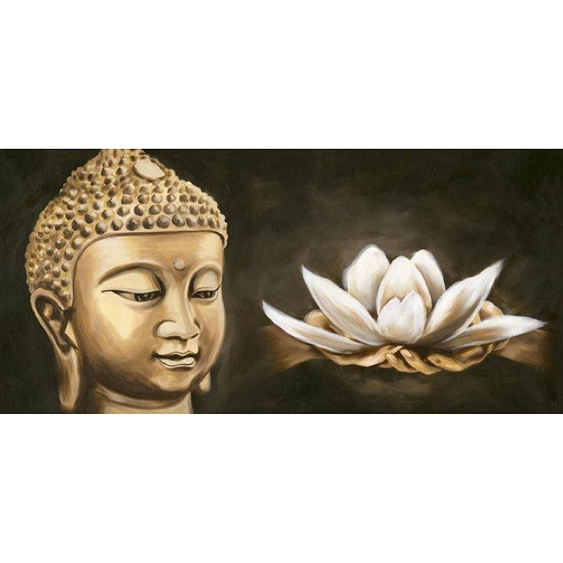 DIY Diamond Embroidery Religious Buddha Diamond Painting Cross Stitch Diamond Mosaic Embroidery With Home Decoration