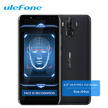 "Ulefone Power 3 6,0 ""18:9 Smartphone Gesicht ID Android 7.1 6G + 64 GB Octa Core Vollbild 21MP 4 Kameras 6080 mAh 4G Handy"