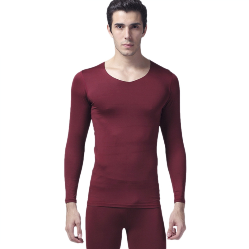 2017 New Winter Warm Men 2Pcs Thermal Underwear Set Thicken Long Johns Tops 5 Color L-XXXL S4