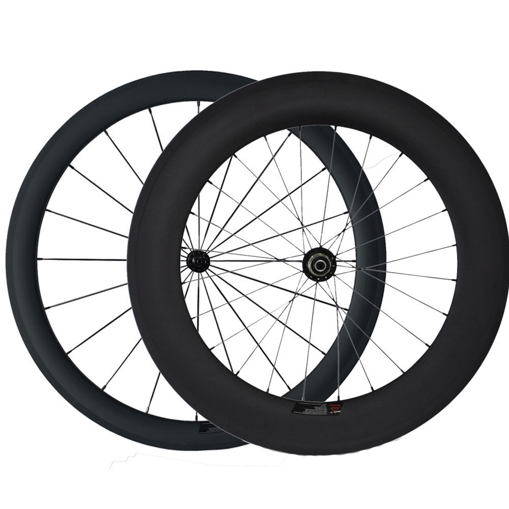 Aero U Shape road bike wheels china sprint wheelsets carbon clincher 60mm 88mm 700c triathlon