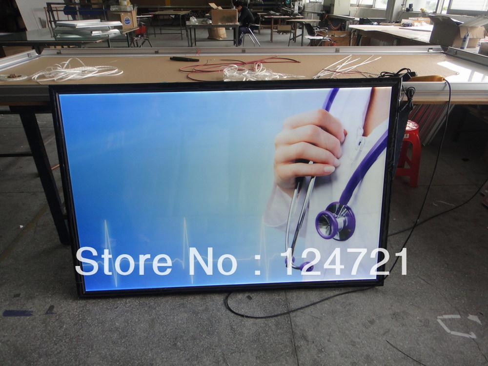 ФОТО Aluminum photo frame ,Advertisement slim led lightbox
