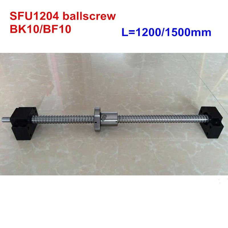 SFU1204 vis à billes 1200mm 1500mm + BK10/BF10 RM1204 CNC pièces