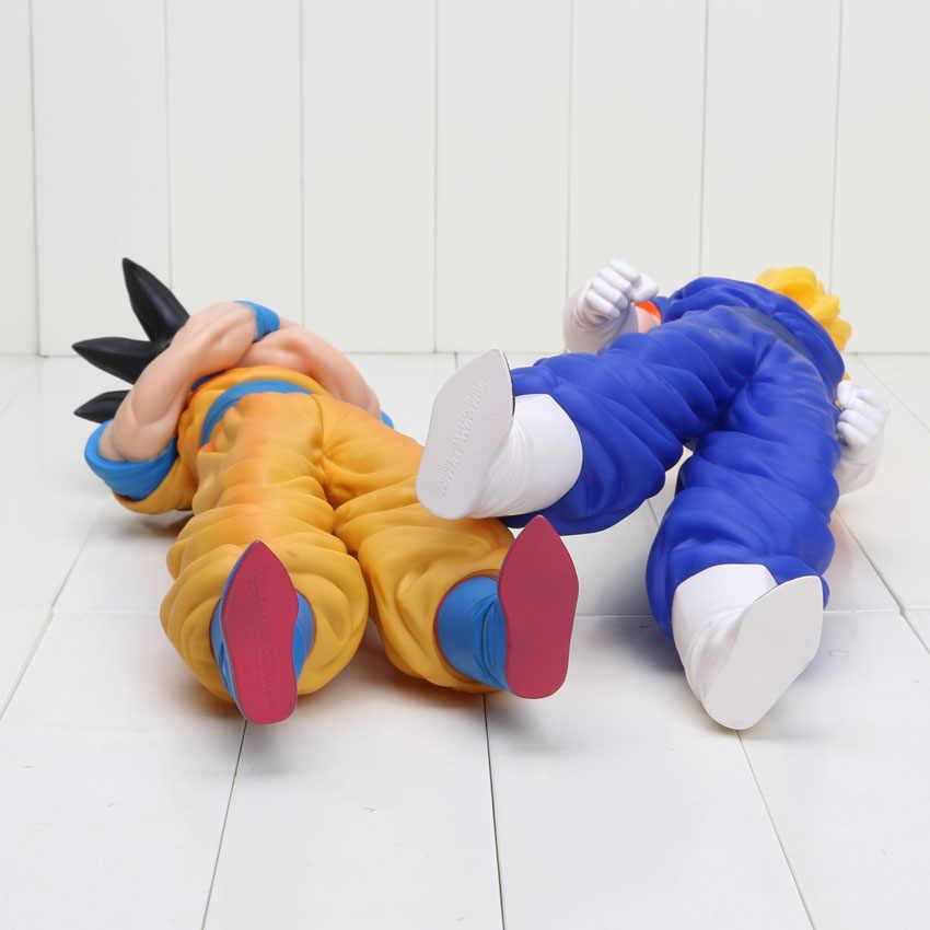 36-43cm dragon ball z super grande super saiyan vegeta goku filho gokon pvc modelo boneca figura de ação brinquedo com caixa