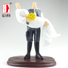 Wedding gift wedding cake topper resin body / creative gifts / clay dolls / custom / clay doll body SR257