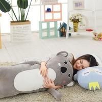 Cute Cartoon Soft Animal koala totoro unicorn bear cat sleeping Dolls body Pillows Plush Toys Children Gifts