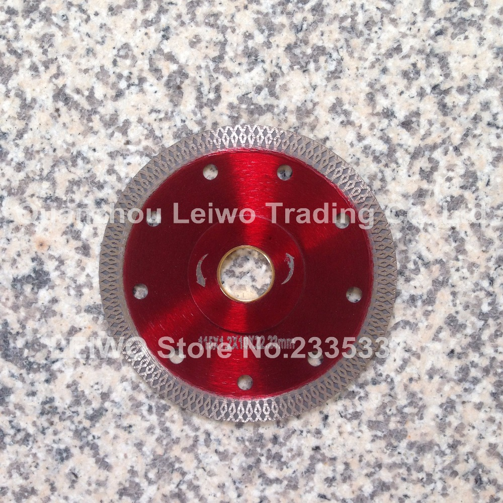 Online get cheap porcelain diamond cutting blade aliexpress turbo saw blade 45 inch 115 mm for porcelain ceramic tile marble cutting blade disc cutter diamond disk inner hole 2223 mm dailygadgetfo Images