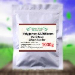 1000g Hij Shou Wu Extract Poeder, Effectieve Stimuleert Haargroei & Keert Grijs Haar, polygonum Multiflorum Poeder, Fo-ti Wortel