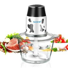 Free shipping Household electric meat grinder automatic capacity of cuisines crushed garlic machine Meat Grinders